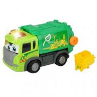 Masina de gunoi cu sunete si lumini Scania Dickie Toys 25 cm