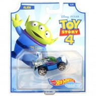 Masinuta metalica Alien Toy Story 4 Hot Wheels