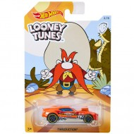 Masinuta metalica Yosemite Sam Looney Tunes Hot Wheels