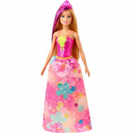 Papusa Barbie blonda cu suvita mov Barbie Dreamtopia