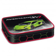 Penar neechipat cu perete despartitor Lamborghini verde