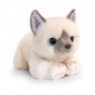 Pisica de plus crem 32 cm