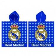 Prosop poncho FC Real Madrid 115x55 cm