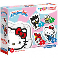 Puzzle 4 in 1 Hello Kitty Clementoni 30 piese