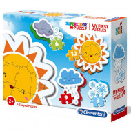 Puzzle 4 in 1 Meteo Clementoni 30 piese