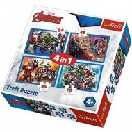 Puzzle Avengers 4 in 1