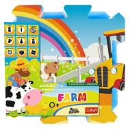 Puzzle din spuma Farm Fun 8 piese