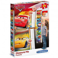 Puzzle Measure Me Cars 3 Clementoni 30 piese