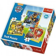 Puzzle Patrula Catelusilor 3 in 1