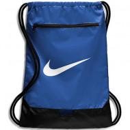 Sac de umar cu snur Nike Brasilia mare albastru