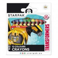 Set 12 creioane cerate Transformers