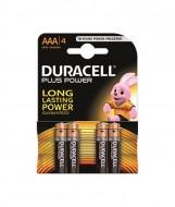 Set baterii alcaline Duracell Basic AAA 4 buc