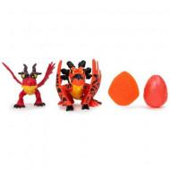 Set de joaca 2 figurine Hookfang si ou How to Train Your Dragon