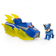 Set de joaca Chase Deluxe Vehicle Patrula Catelusilor Mighty Pups Charged Up