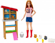 Set de joaca Ferma de pui Barbie You Can Be Anything