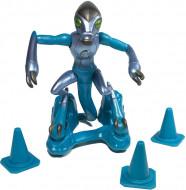 Set de joaca figurina XLR8 Ben 10 Omni-Metallic