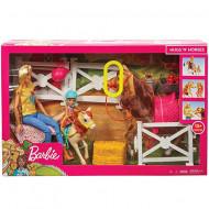 Set de joacă Hugs 'N Horses Barbie