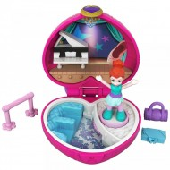 Set de joaca Lila Ballet Compact Polly Pocket