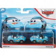 Set de masinute metalice Dinoco Mia si Dinoco Tia Cars