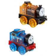 Set locomotive Thomas si Stephen cu lumini Thomas&Friends Minis