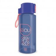 Sticla pentru apa albastru deschis - mov Ars Una 650 ml