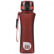 Sticla pentru apa Ars Una rosu inchis mat 500 ml