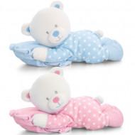 Ursulet de plus cu perna Keel Toys 25 cm