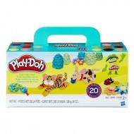 Set 20 cutii plastilina Play Doh