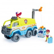 Camion de teren cu sunete si lumini Patrula Catelusilor Jungle Rescue