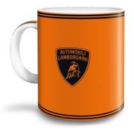 Cana Lamborghini portocaliu