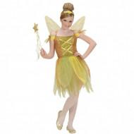 Costum Zana Padurii auriu Widmann 126 cm