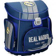 Ghiozdan ergonomic cu pereti rigizi Real Madrid 1902 38 cm