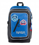 Ghiozdan ergonomic laptop NASA negru 45 cm