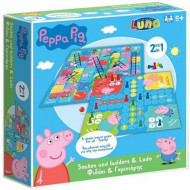 Joc de societate 2 in 1 Purcelusa Peppa