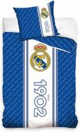 Lenjerie pat FC Real Madrid 160x200 cm RM187001