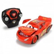 Masinuta cu telecomanda Fulger McQueen Crash Car Disney Cars 3