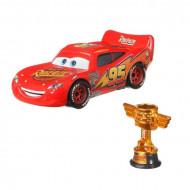 Masinuta metalica Fulger McQueen cu cupa Cars