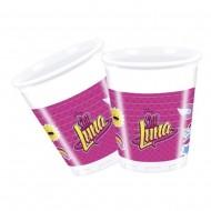 Pahare de plastic pentru petrecere Soy Luna