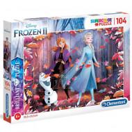 Puzzle Brilliant Frozen 2 Clementoni 104 piese