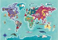 Puzzle Exploring Maps - Civilizatii - Clementoni 250 piese
