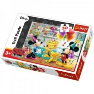 Puzzle Minnie Mouse Birthday Cake 30 piese