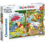 Puzzle Winnie the Pooh Clementoni 3x48 piese