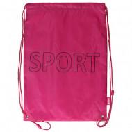 Sac de umar cu snur Sport Spirit roz