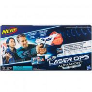 Set 2 pistoale de jucarie Nerf Alphapoint Laser Ops