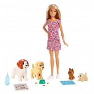 Set Barbie Doggy Daycare