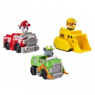 Set de joaca Marshall, Rubble si Rocky Racers Patrula Catelusilor