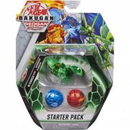 Set de joaca Starter Pack Fenneca Ultra, Dragonoid si Sharktar Bakugan Geogan Rising