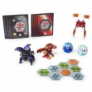 Set de joaca Trox Ultra vs Pegatrix Ultra, Baku-Gear 4 Pack Bakugan Armored Alliance