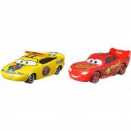 Set de masinute metalice Charlie Checker si Fulger McQueen Disney Cars 3