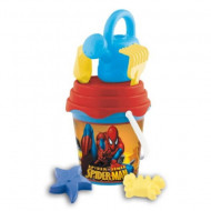 Set jucarii pentru nisip Spiderman 7 piese